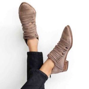 FREE PEOPLE LOST ANKLE BOOTIES